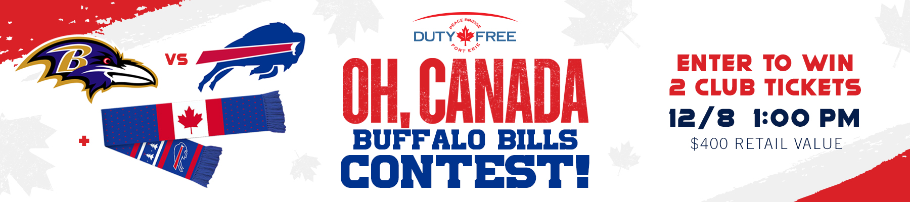 Oh, Canada Buffalo Bill Contest